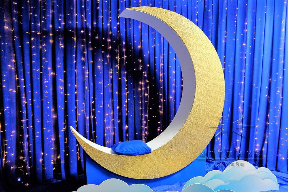 Фотозона новогодняя своими руками луна 27