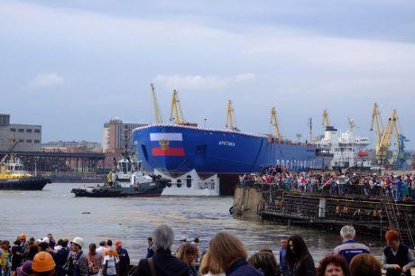 Торжественное украшение мероприятия всероссийского значения