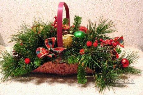 Украшение новогоднего торжества и банкета