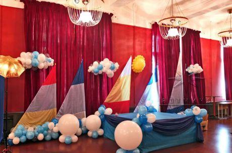 Оформление Международного праздника День защиты детей в ДК Ленсовета