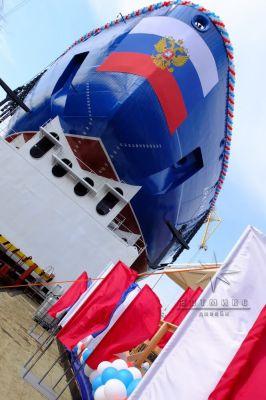 Торжественное оформление мероприятия всероссийского значения на Балтийском заводе в Санкт-Петербурге