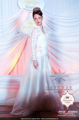 Оформление ежегодной выставки-продажи Королевство свадеб 2014