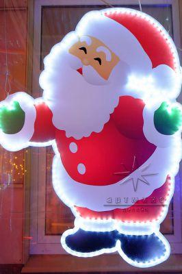 Светящиеся новогодняя фигура Дед Мороз