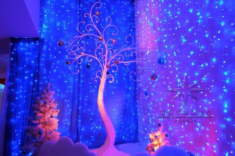 Новогоднее оформление в гостинице Санкт-Петербург