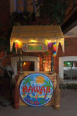 Оформление Гавайской вечеринки для Новогоднего мероприятия