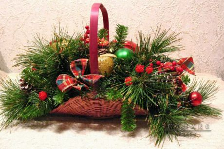 Детали декора оформление офиса или банкета на Новый год