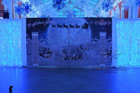 Новогодние ворота