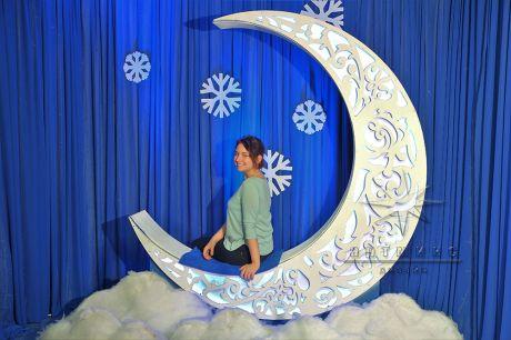 Фотозона Лунная ночь из серии Ажурные фигуры