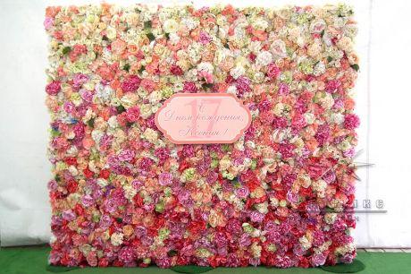 Фотозона Flower на день рождения