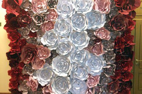 Фотозона - Королевство цветов