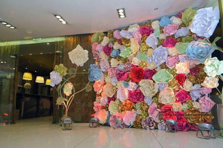 Фон из цветов для любого мероприятия
