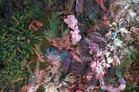 Оформление фотозоны в стиле Лес