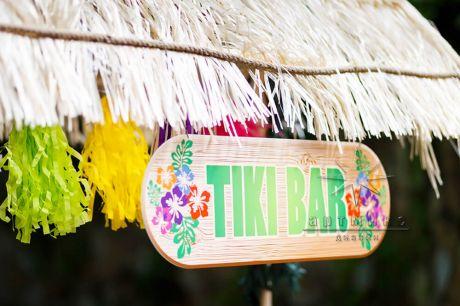 Пляжный мини-бар Tiki bar