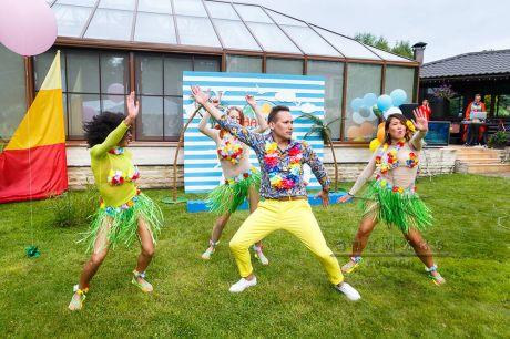 Корпоративная вечеринка в стиле Гавайи пати