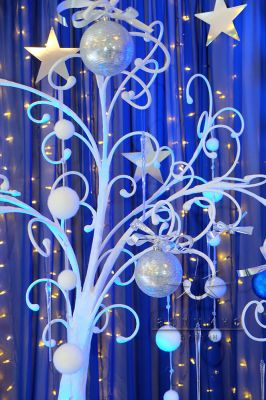 Новогодняя декорация для фотосессии - Дерево