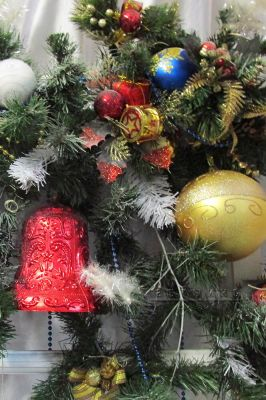 Украшение на Рождество и Новый год