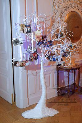 Дерево пожеланий с фотографиями юбиляра