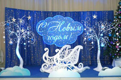 Фотозона на Новый год для комбината Мельница Кирова (5)