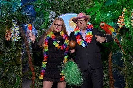 Новогодняя ночь гавайского карнавала в Solo Sokos Hotel Palace Bridge