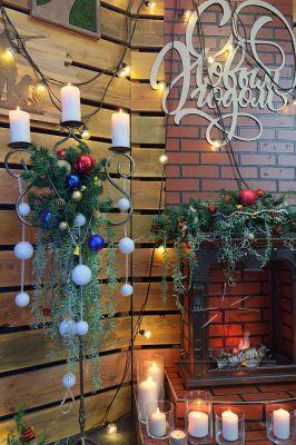 Фотозона на Новый год в стиле скандинавского хюгге