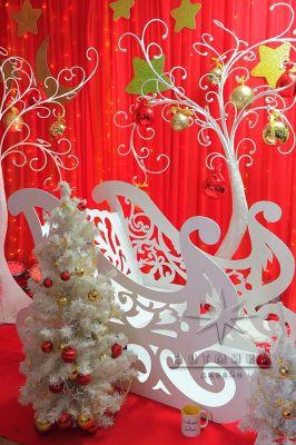 Сани для новогодней фото сессии