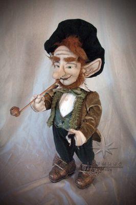 Авторская текстильная кукла *Великолепный Якоб*