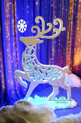 Новогодняя светодиодная фигура Олень из коллекции Ажурные фигуры