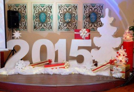 Новогоднее оформление в Доме Офицеров на Литейном