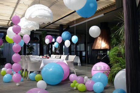 Украшение зала на день рождения