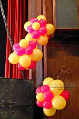 Оформление праздника ко  дню защиты детей в ДК Ленсовета