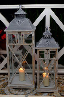 Необычная лампа со свечой