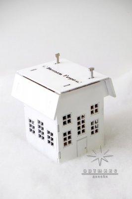 Новогодний сувенир домик светильник • Цена договорная  Арт 77706