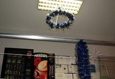 Дизайн офисов и помещений к Новому году