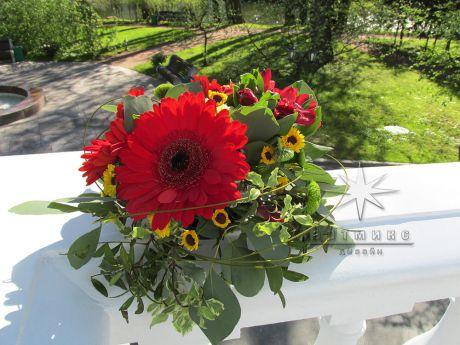 Цветы на юбилее в государственной резиденции К - 5