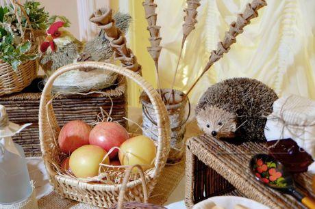 Праздничный декор  – это неотъемлемая часть эффектного стиля праздника • Кэнди-бар в народно-русском стиле
