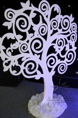 Новогодняя фигура Дерево ажурное