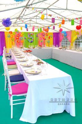 Оформление на детский день рождения для  5-летнего юбиляра