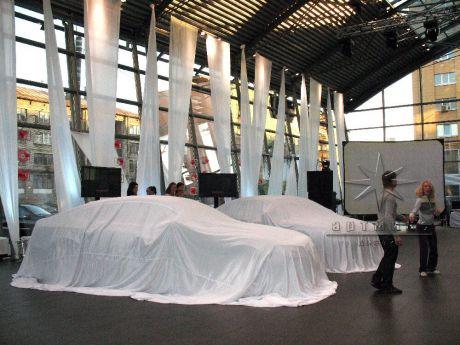 Оформление автосалона для мероприятия