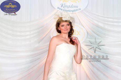 Оформление выставки Королевство свадеб 2014