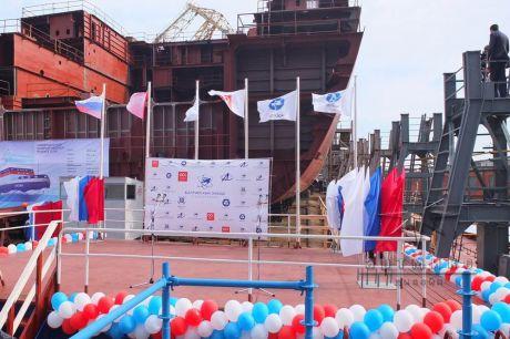 Оформление маштабного значения для Балтийского завода и Санкт-Петербурга