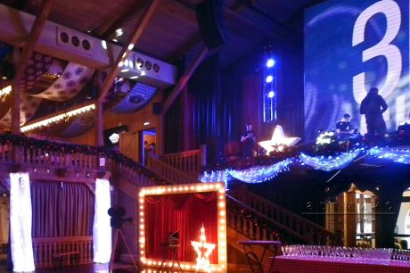Новогодняя вечеринка в ресторане Alpenhaus