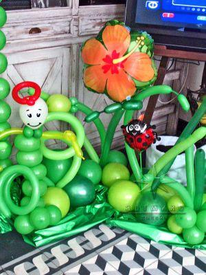 Элементы декора в оформление детского праздника