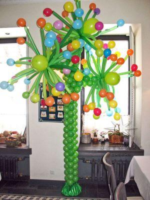 Украшение помещения воздушными шарами на день рождения ребенка