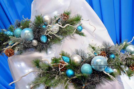 Зимняя флористика и праздничный декор