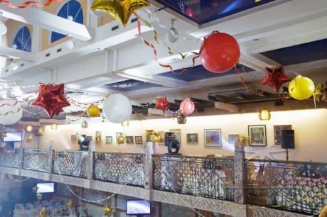 Оформление шарами на праздничное торжество