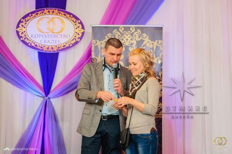 Оформление ежегодной выставки-продажи Королевство свадеб 2015 года