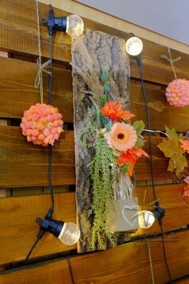 Осенний декор в оформлении праздников