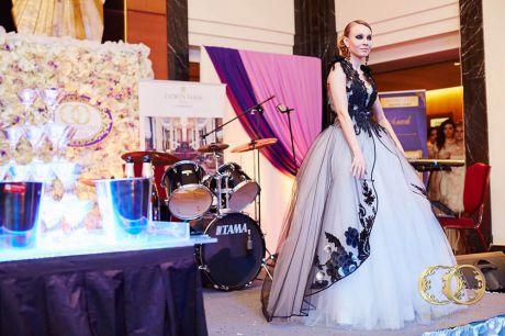 Оформление выставки Королевство свадеб 2016