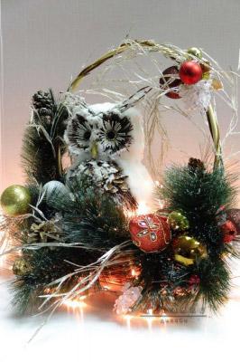 Оригинальный новогодний подарок - Сова
