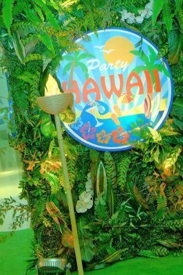 Фотозона для Гавайской вечеринки